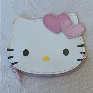 Hello Kitty mini wallet coin pouch cute pink